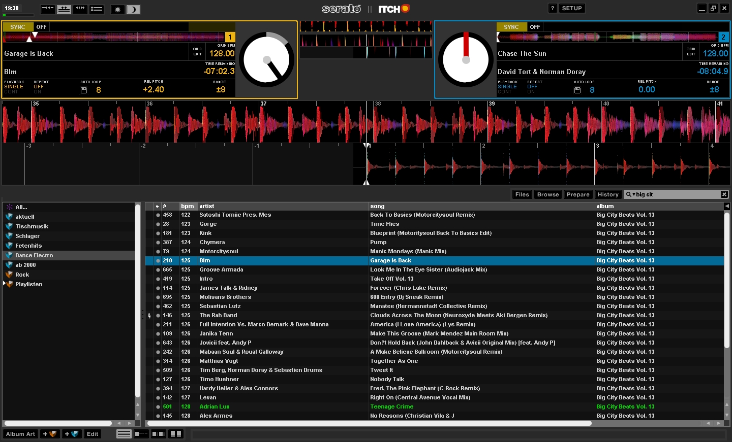 Serato Screen